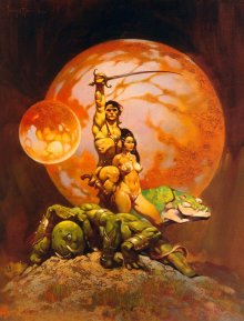Frank Frazetta - Princess of Mars