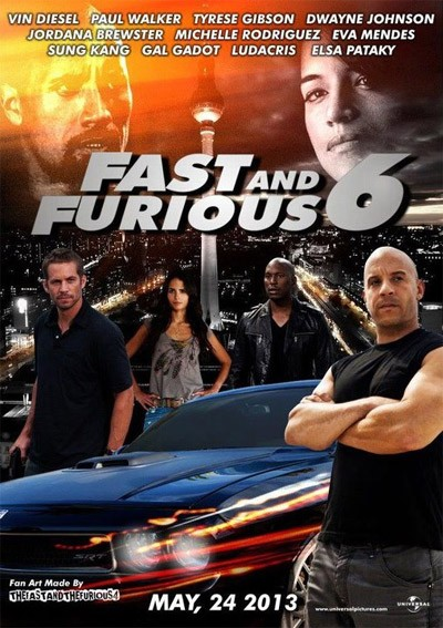 a todo gas 6 fast and furious 6