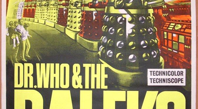 """""""Doctor Who y los Daleks"""" (1965)… ¡Corre!"""