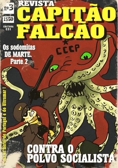 Capitão Falcão - Poster