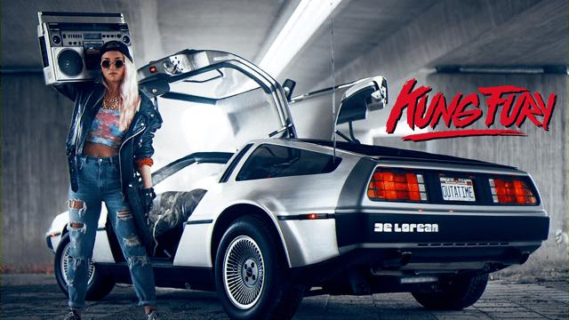 Kung Fury - DeLorean
