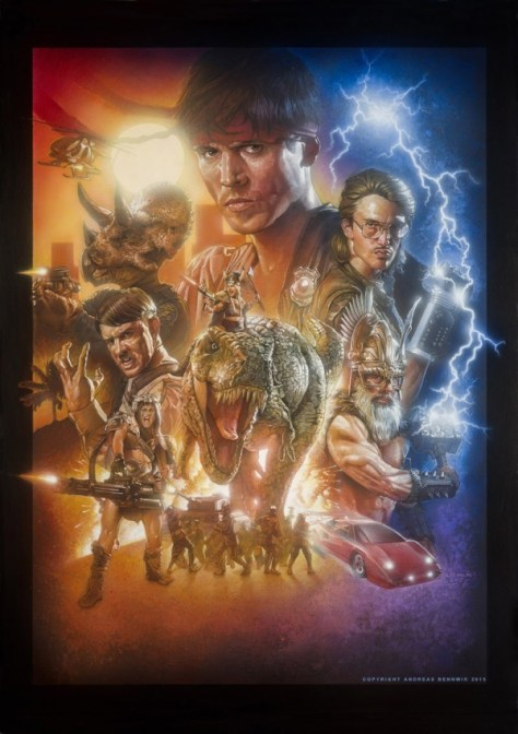 Kung Fury - Poster