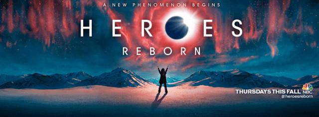 """""""Heroes Reborn"""", primer vistazo y posters de personajes…"""