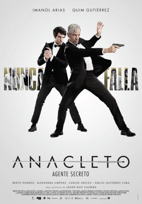 Anacleto: Agente secreto - poster