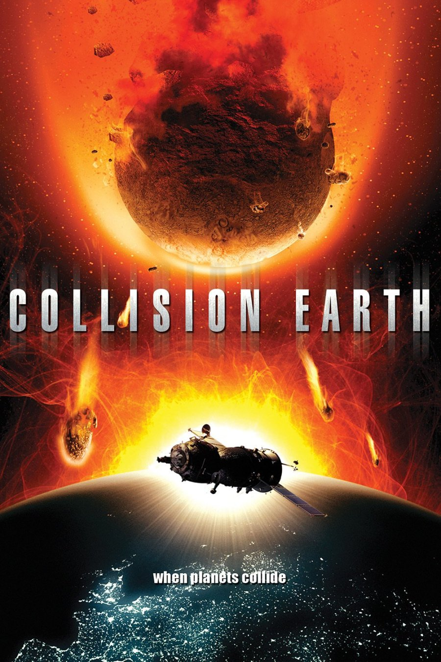 Collision Earth - poster