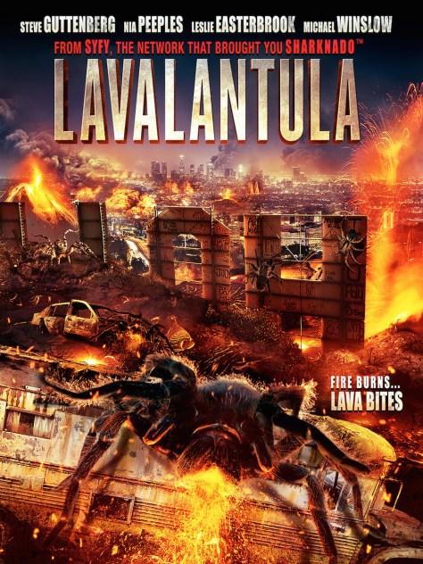 lavalantula - poster
