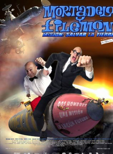 mortadelo y filemon - poster
