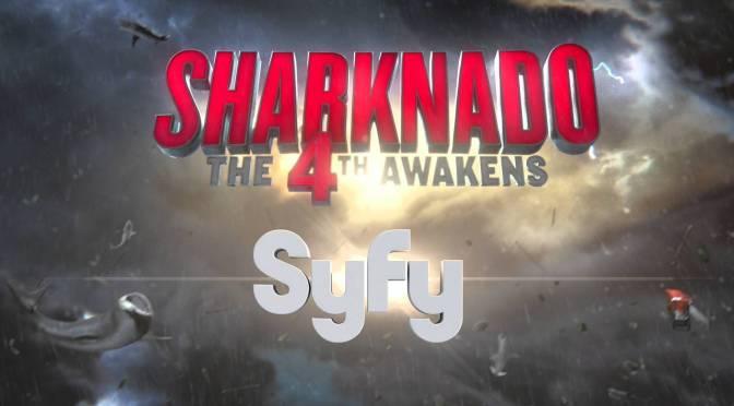 Sharknado: Que la 4ª te acompañe (2016), la parodia de la parodia que se autoparodia