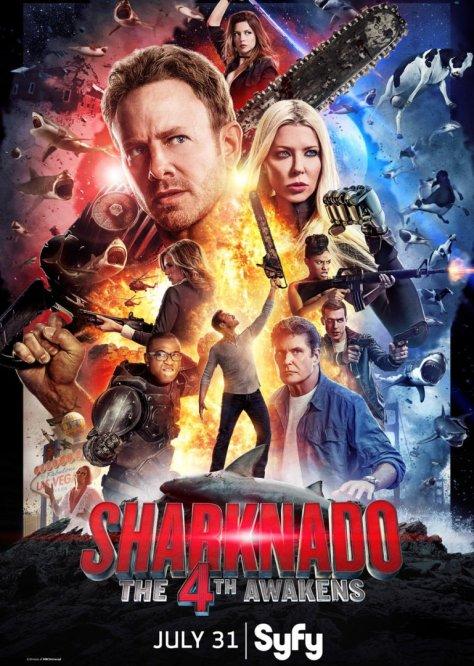 sharknado 4 - poster