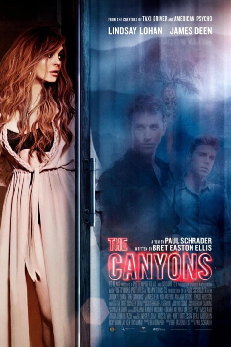 The Canyons - poster