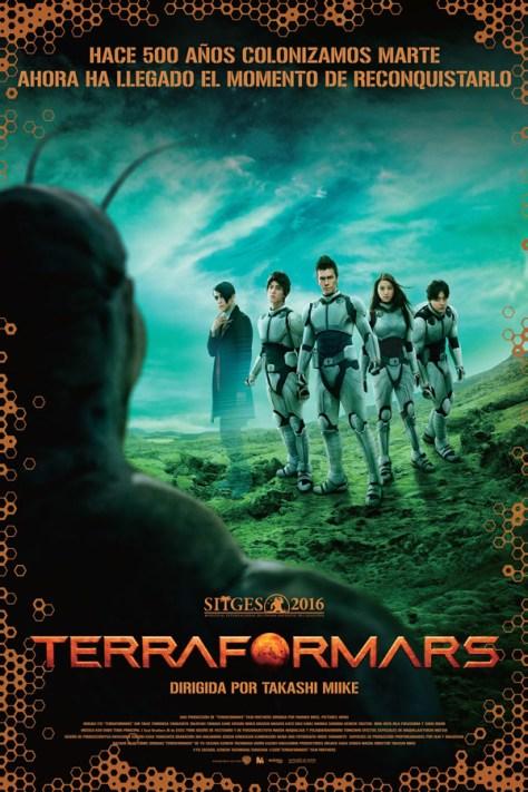 Terra Formars - poster