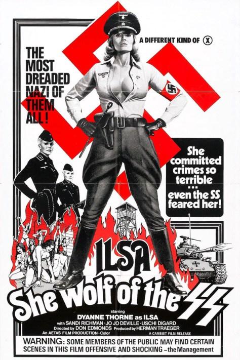 Ilsa, la loba de las SS - poster