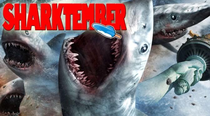 Sharknado 5: Aletamiento global (2017), no se han atrevido con la rima fácil