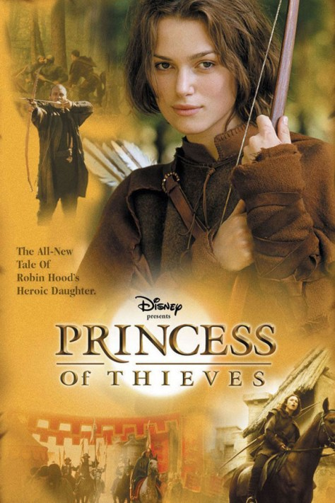 La princesa de Sherwood - poster