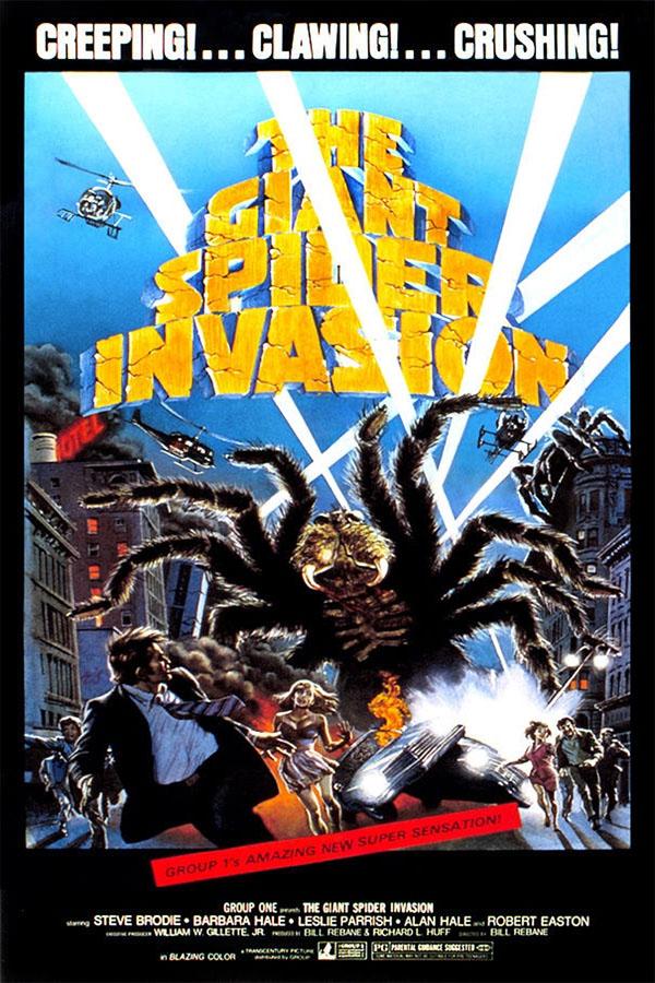 La Invasión de las Arañas Gigantes - poster