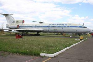 Fotografía del avión de la película.