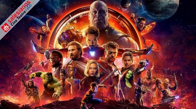 Los Vengadores: La Guerra del Infinito (2018), jodidamente espectacular