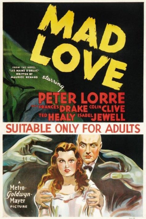 Las manos de Orlac - poster