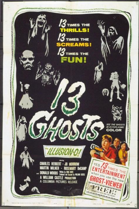 Los 13 fantasmas - poster