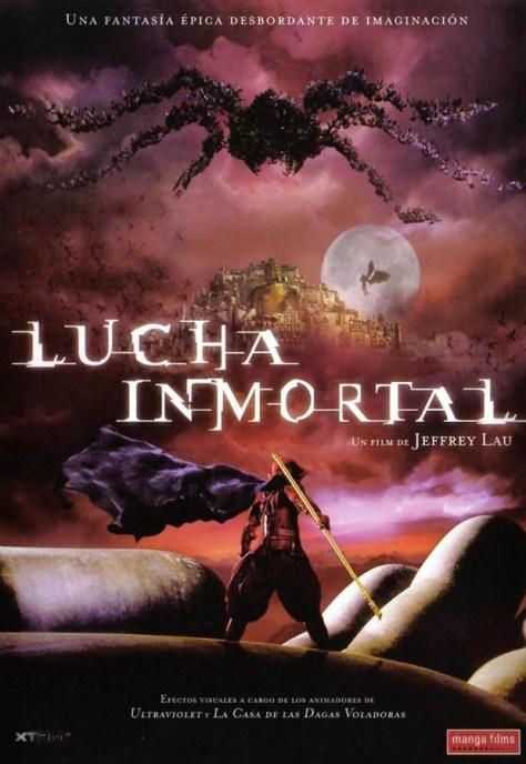 Lucha inmortal - poster