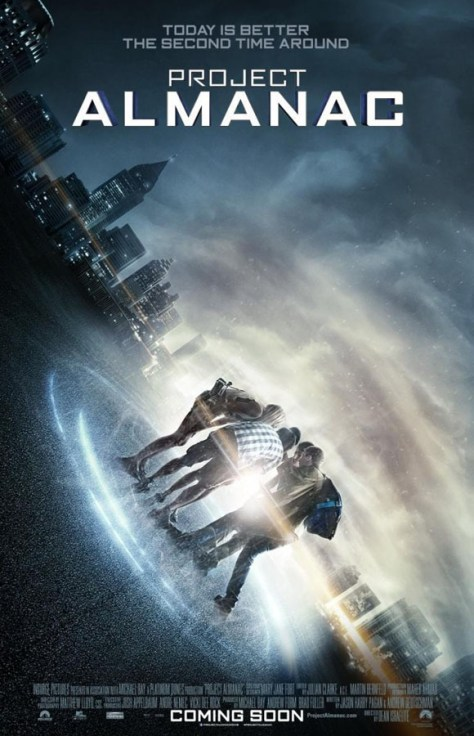 Project Almanac - poster