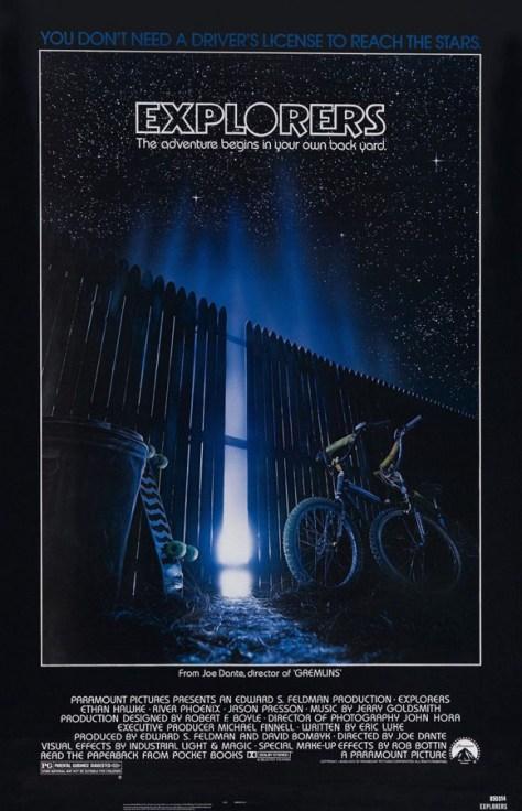Exploradores - poster
