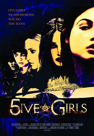 5 brujas - poster