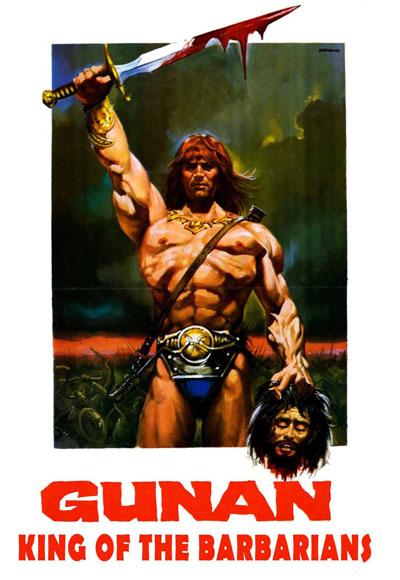 Gunan, el guerrero - poster
