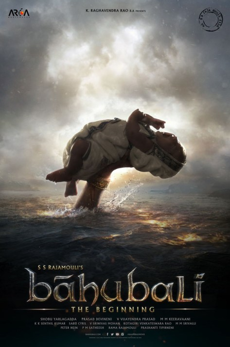 Baahubali: The Beginning - poster
