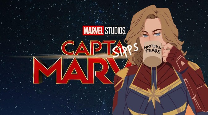 Capitana Marvel (2019), porno for noventers