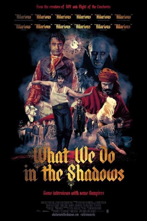 Lo que hacemos en las sombras - poster