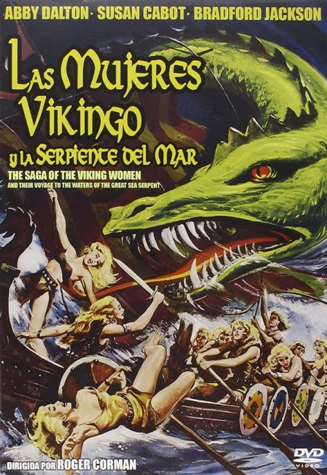 Las mujeres vikingo y la serpiente del mar - poster