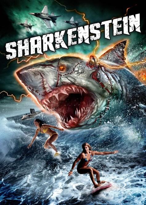 Sharkenstein - poster