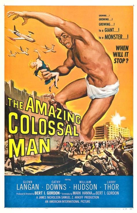El asombroso hombre creciente - poster