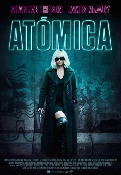 Atómica - poster