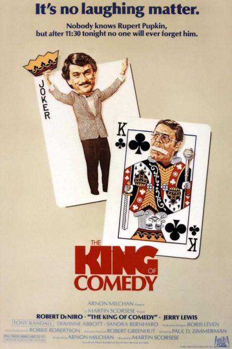 El rey de la comedia - poster