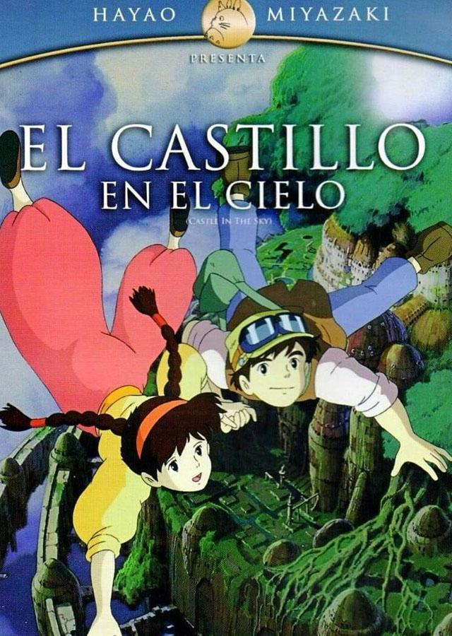 El castillo en el cielo - poster