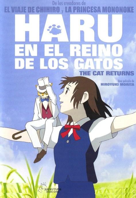 Haru en el reino de los gatos - poster