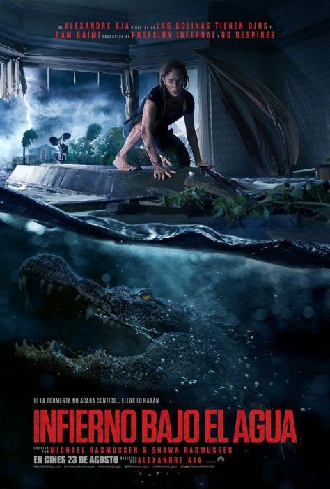 Póster de la película Infierno bajo el agua, de 2019