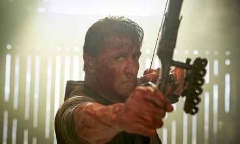 Fotograma de la película Rambo Last Blood, de 2019