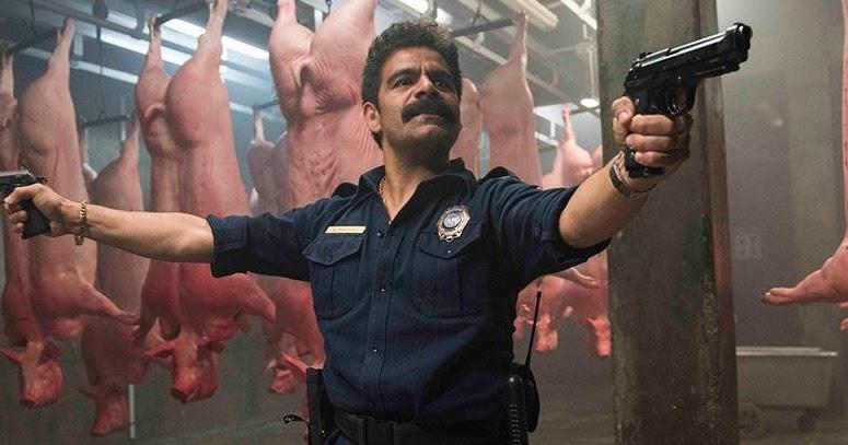 Fotograma de la película Placa de acero, de 2017