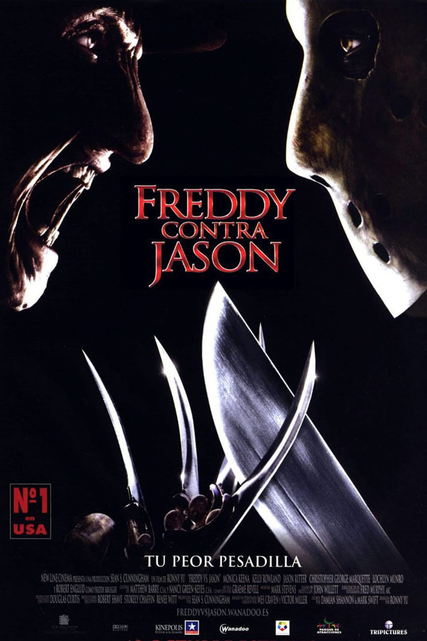 Freddy contra Jason - poster