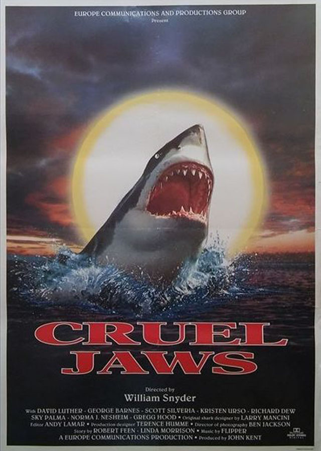 Cruel Jaws - poster