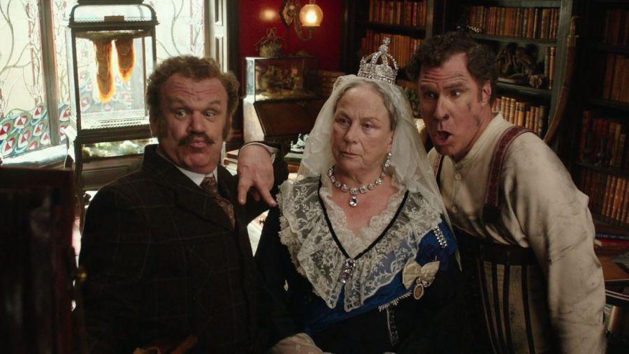 Fotograma de la película Holmes y Watson, de 2018