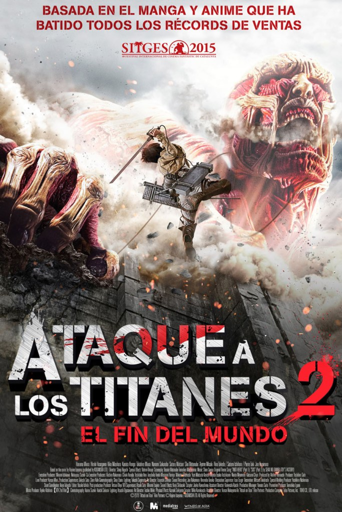 Ataque a los Titanes: El Fin del Mundo - poster