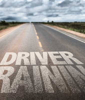 Driver Training sign