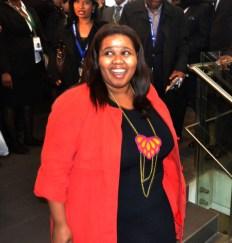 Parliamentary Leader for the opposition Democratic Alliance, Lindiwe Mazibuko. Photo: Nokuthula Manyathi