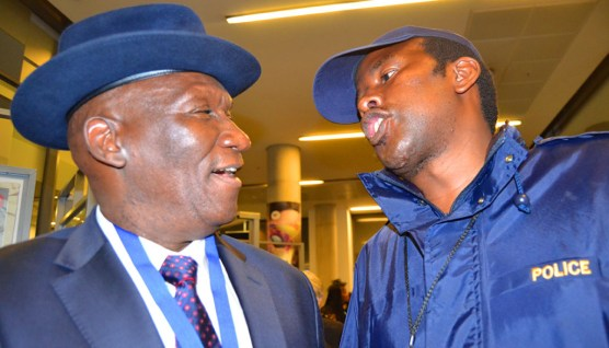 Former National Commissioner of the South African Police Service Chief Bheki Cele was also in attendance Photo: Nokuthula Manyath