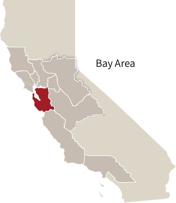 Bay Area   ZAP   ZAP Widely Varied Microclimates  The Bay Area
