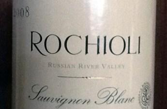 2008 Rochioli Sauvignon Blanc